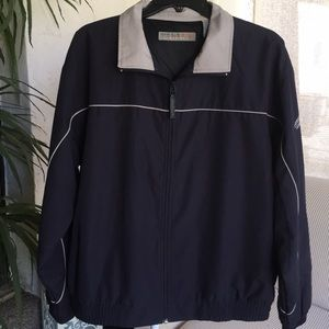 Perry Ellis Navy Blue Active Jacket